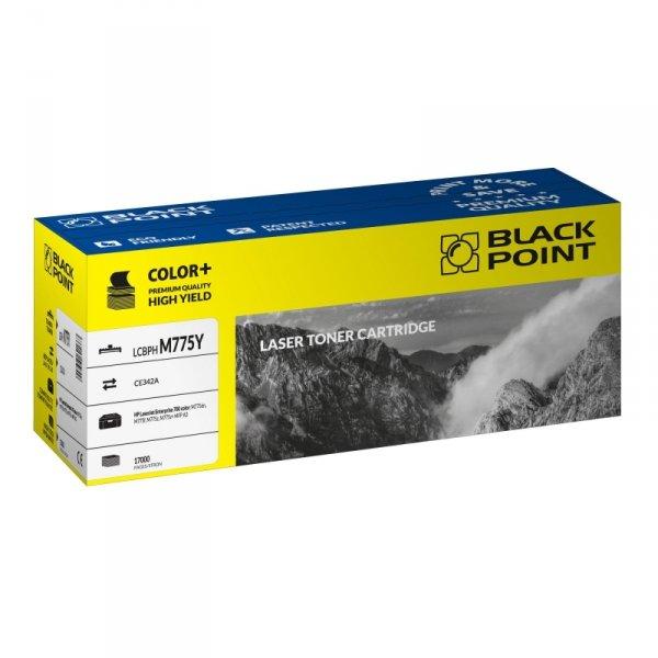 Black Point toner LCBPM775Y zastępuje HP CE342A, żółty