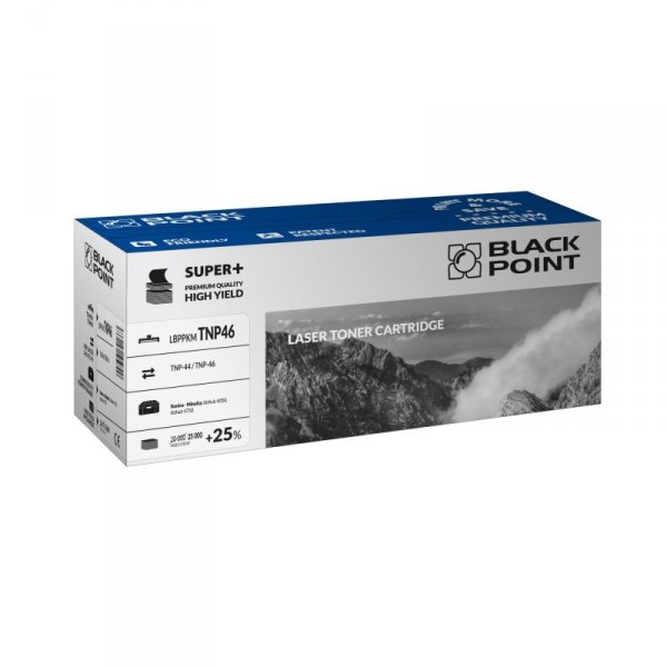 Black Point toner LBPPKMTNP46 zastępuje Minolta TNP-44 / TNP-46, 25000 stron