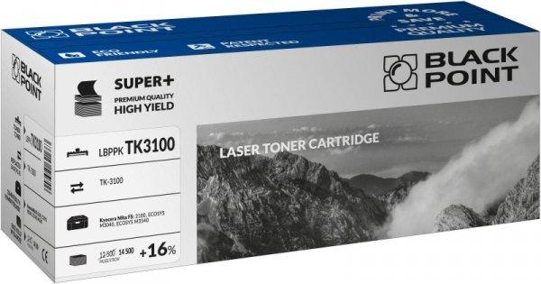 Black Point toner LBPPKTK3100 zastępuje Kyocera TK-3100, 14500 stron