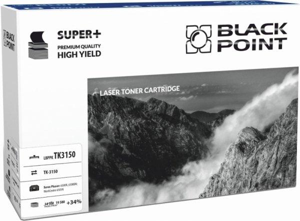 Black Point toner LBPPKTK3150 zastępuje Kyocera TK-3150, 19500 stron