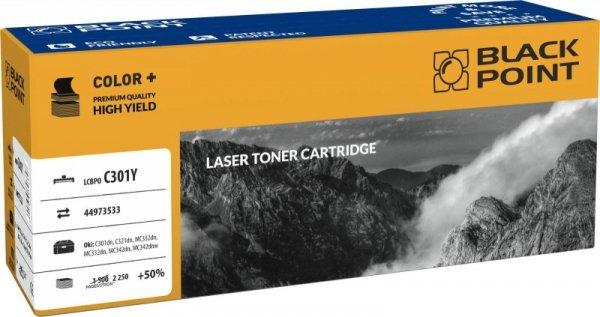 [LCBPOC301Y] Toner Black Point Color (Ok 44973533) yellow