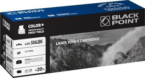 Black Point toner LCBPS506LBK zastępuje Samsung CLT-K506L, czarny