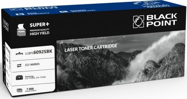 [LCBPS6092SBK] Toner Black Point Color Samsung (CLT-K6092S) black