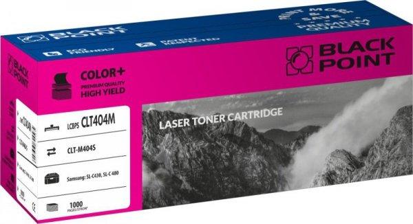Black Point toner LCBPSCLT404M zastępuje Samsung CLT-M404S, czerwony