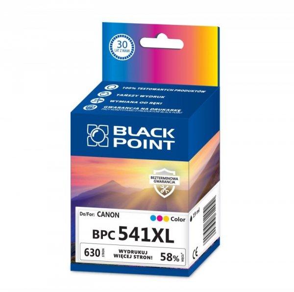 Black Point tusz BPC541XL zastępuje Canon CL-541XL, trójkolorowy