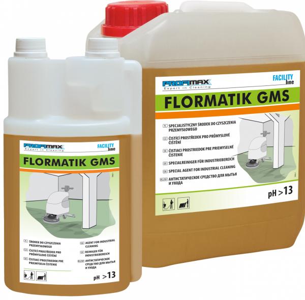 FLORMATIK GMS - specjalistyczny produkt do czyszczenia przemysłowego 5l