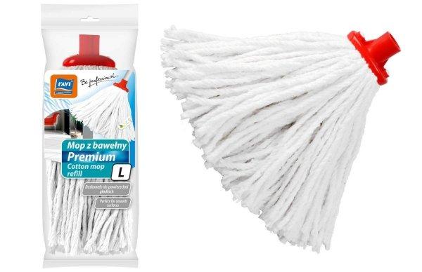 Końcówka mop sznurek Premium RAVI L