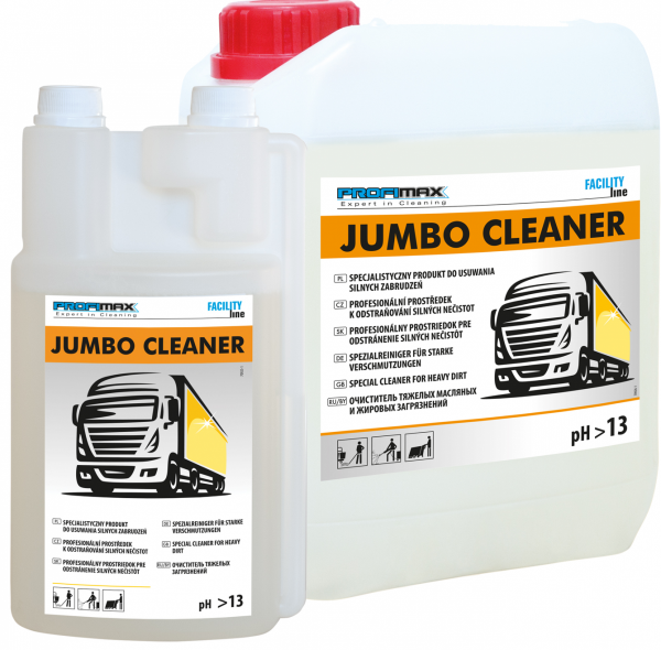 JUMBO CLEANER - środek do usuwania silnych zabrudzeń 5l