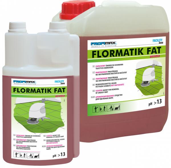 FLORMATIK FAT AROMA - zapachowy środek do usuwania tłustego brudu 1l