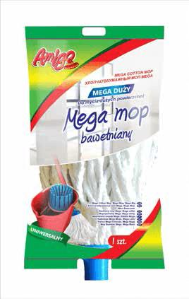 Końcówka mop sznurek Amigo Mega