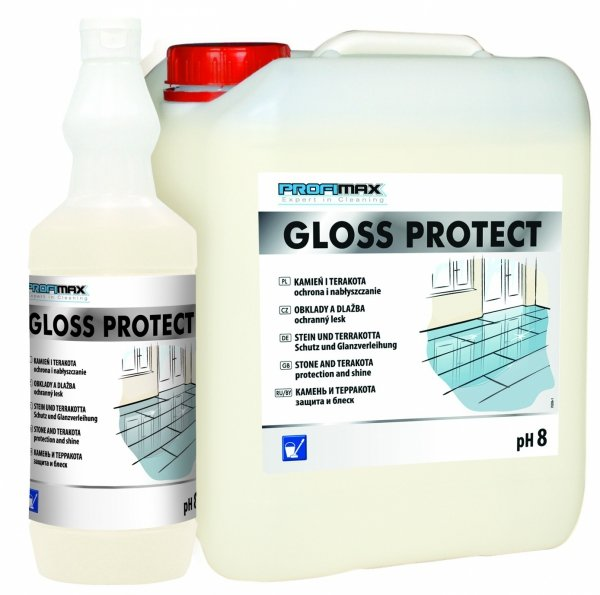 GLOSS PROTECT -  KAMIEŃ, TERAKOTA - ochrona i nabłyszczanie 1l
