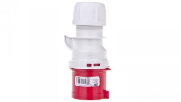 Wtyczka przenośna 32A 3P 400V czerwona IP44 SHARK 023-9