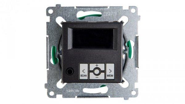 Simon 54 Radio cyfrowe z wyświetlaczem antracyt D75252.01/48
