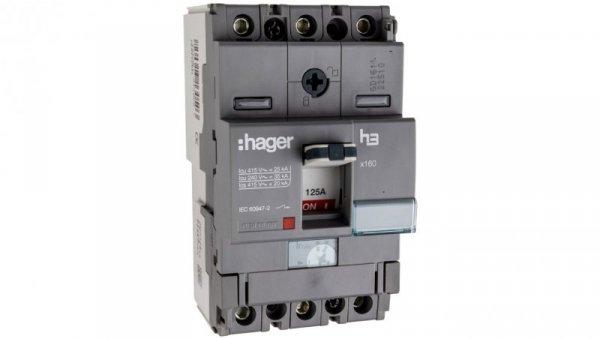 Wyłącznik mocy 125A 3P 25kA HHA125H