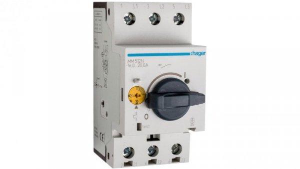 Wyłącznik silnikowy 3P 9kW 16-20A MM512N