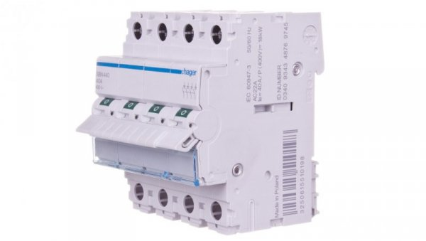 Rozłącznik modułowy 40A 4P SBN440