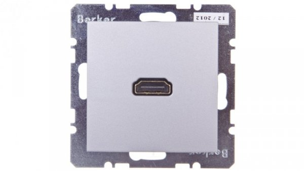Gniazdo HDMI aluminium 3315421404