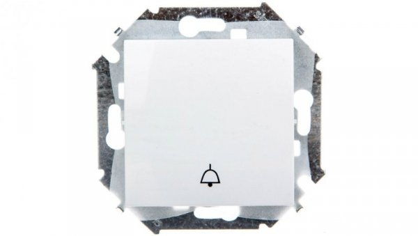 Simon 15 Przycisk /dzwonek/ biały 1591659B-030