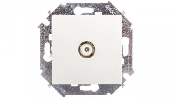 Simon 15 Gniazdo antenowe pojedyncze beżowe 1591475-031