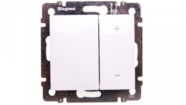 VALENA Ściemniacz przyciskowy 40-400VA 250V biały 770062