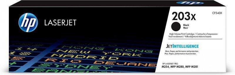 Toner HP LaserJet 203x (CF540X) black