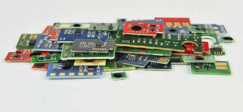 Chip Cyan Lexmark CS421, CS521,CS622, CX421, CX522, CX622, CX625 (78C20C0)