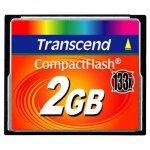 Transcend Karta pamięci CompactFlash 133 2GB 50/20 MB/s