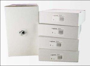 LogiLink Kabel linka 4x2xAWG26/7 UTP,CCA,100m