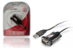 Unitek Adapter USB- 1xRS-232 + Adapter DB9F/DB25M;  Y-105A