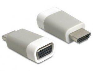 Delock Adapter HDMI-A(M)->VGA(F)