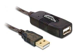 Delock Przedłużacz aktywny USB AM-AF 15M czarny
