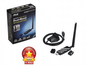 Asus USB-AC56 Dual-band Wireless-AC1200, USB