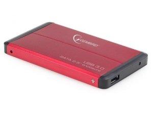Gembird Kieszeń zewnętrzna HDD 2.5'' Sata USB 3.0 Red