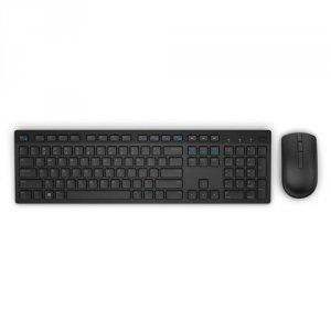 Dell Bezprzewodowa klawiatura + mysz-KM636- US International(QWERTY)Czarna