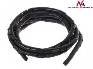Maclean Osłona maskująca na kable MCTV-687 B (20.4*22mm) 3m czarna spirala