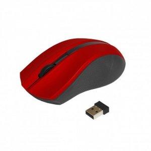 ART Mysz bezprzewodowo-optyczna USB AM-97D czerwona