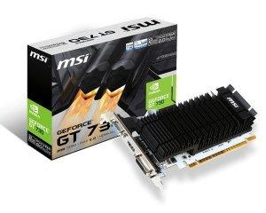 MSI Karta graficzna Ge Force GT730 2GB DDR3 64BIT DVI/HDMI/D-SUB