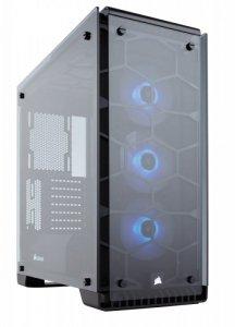 Corsair Crystal Series 570X RGB Compact ATX   Mid-Tower Case
