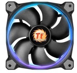 Thermaltake Wentylator Riing 12 LED RGB 256 color 3 Pack (3x120mm, LNC, 1500 RPM) Retail/BOX