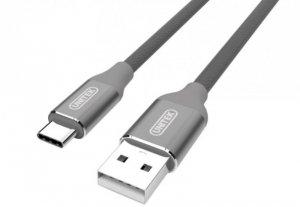 Unitek Kabel PREMIUM USB-USB-C 2.0; GRAY; Y-C4025AGY