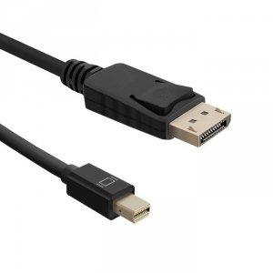 Qoltec Kabel Mini DisplayPort v1.1/ DisplayPort v1.1   1080P   1,8m