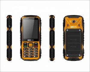 Maxcom Telefon MM 920 STRONG IP67 żółty