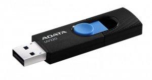 Adata Pendrive UV320 64GB USB 3.2 Gen1 Czarno-niebieski