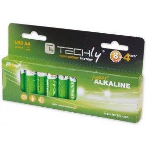 Techly Baterie alkaliczne LR06 AA 12szt, (IBT-LR06T12B)