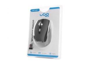 UGo Mysz bezprzewodowa MY-03 2.4GHz 1800DPI optyczna czarna