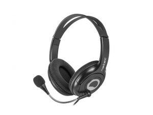 NATEC Słuchawki Bear 2 z mikrofonem czarne