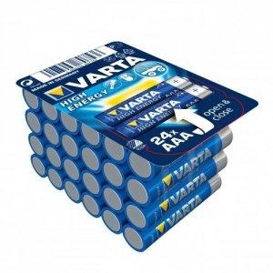 Varta Baterie alkaliczne VARTA R3 (AAA) 24 sztuk HIGH ENERGY