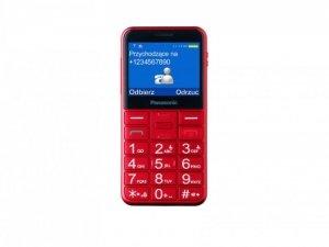 Panasonic KX-TU150 CZERWONY  TELEFON DLA SENIORA