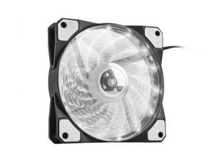 NATEC Wentylator do zasilacza/obudowy Genesis Hydrion 120 biały LED