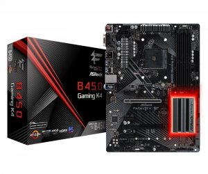ASRock Płyta główna Fatal1ty B450 Gaming K4 AM4 4DDR4 HDMI/DP ATX